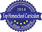2014 Top Homeschool Curriculum 5 Star Award