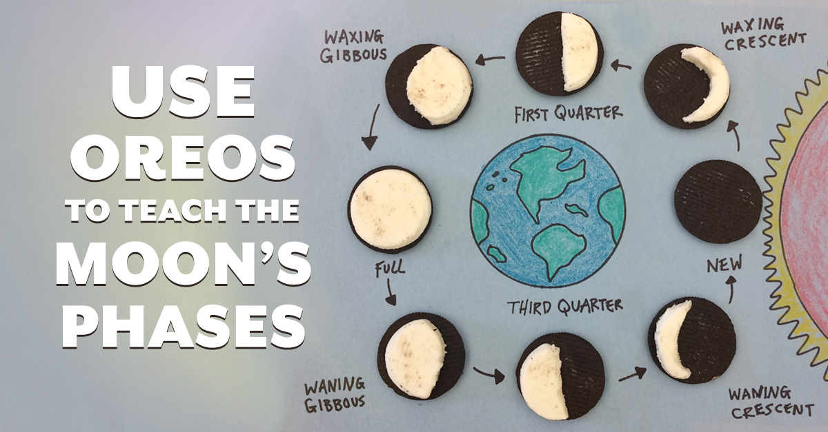 Use Oreos To Teach The Moon U2019s Phases